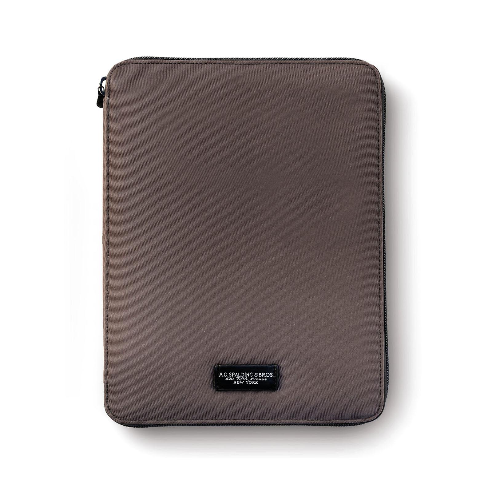 Porte Bloc&tablet Bark MARRON