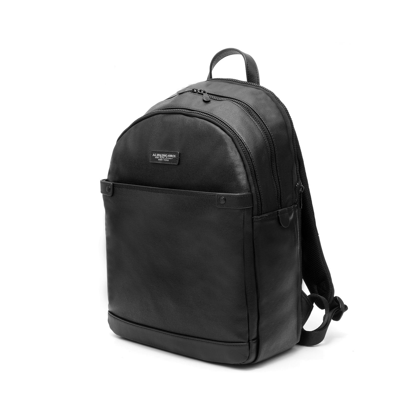 Round Backpack Palm BLACK