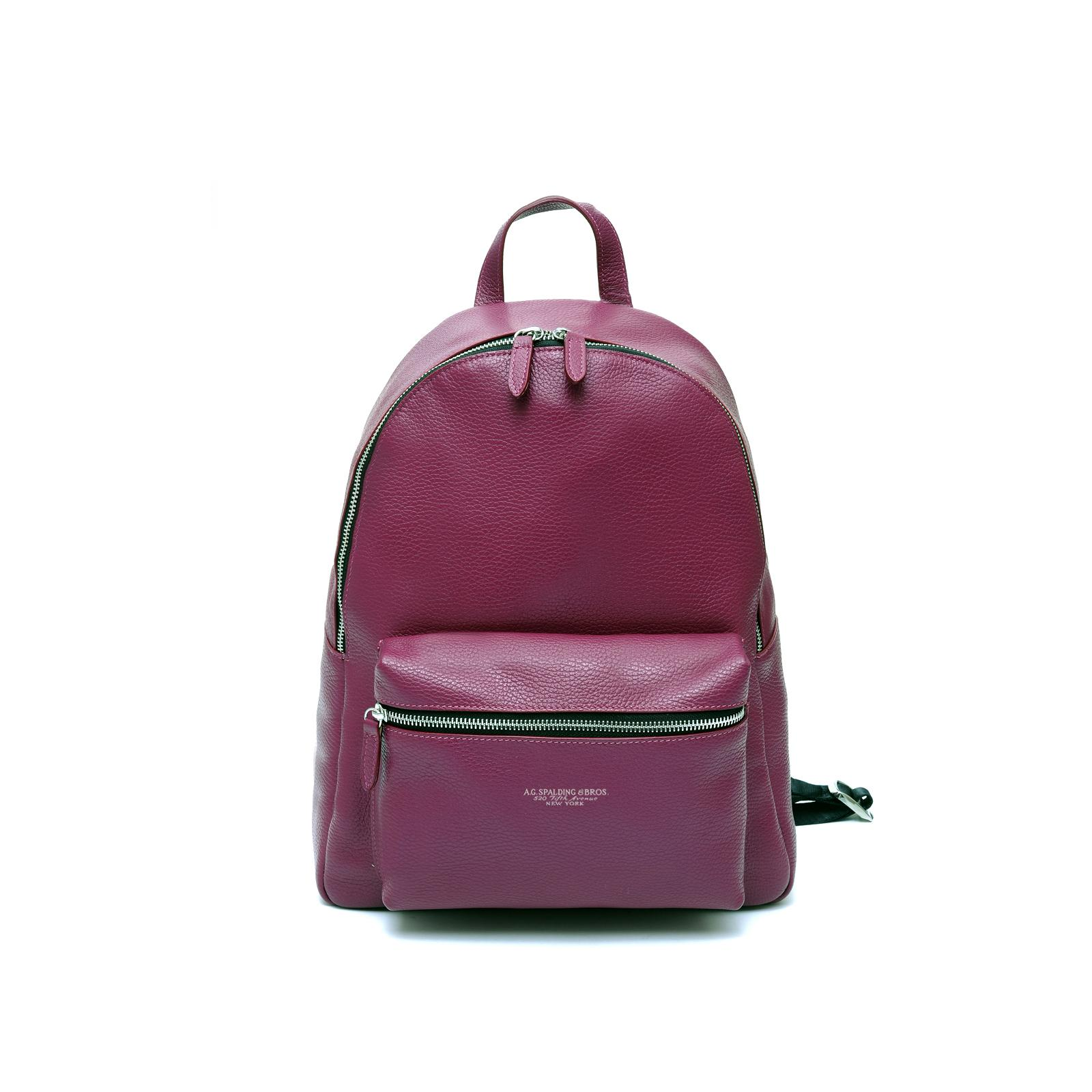 Woman Backpack City Cherry