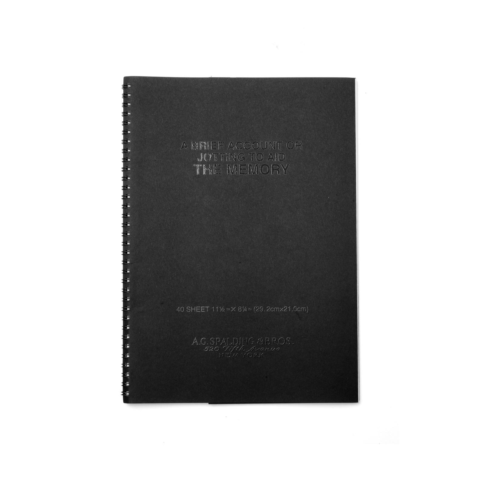 Note Book A4 Noir