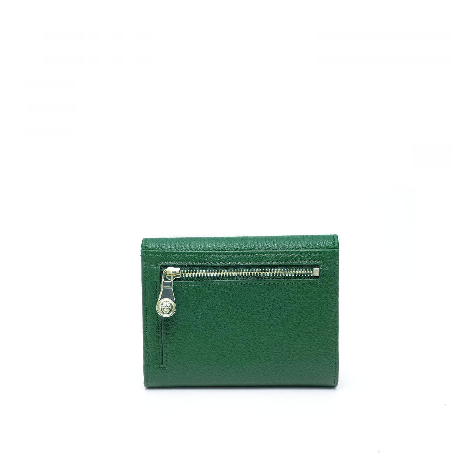 Portefeuille Femmes Small Continental Tiffany Vert