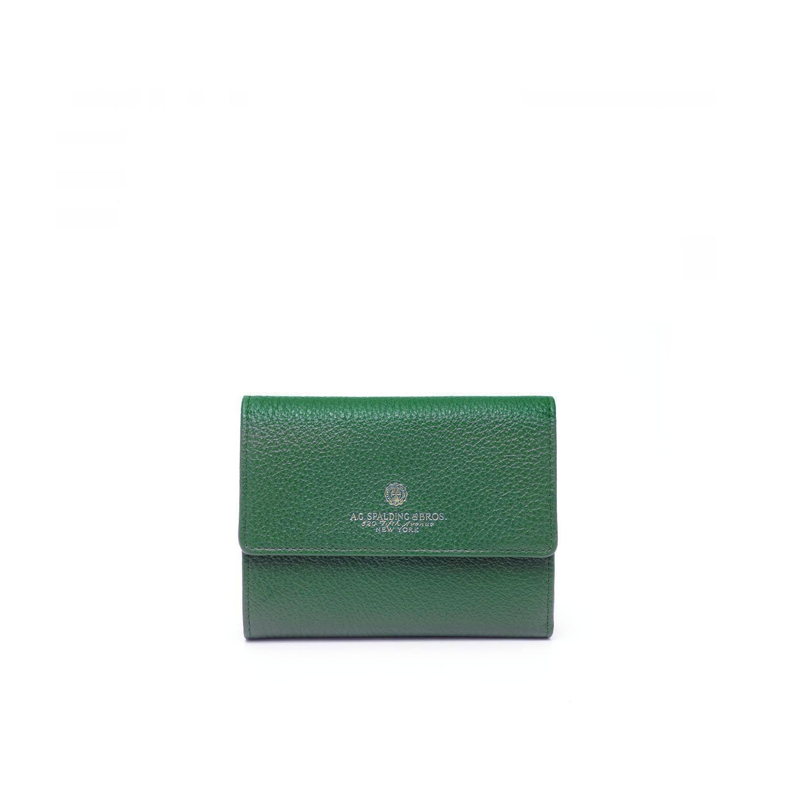 Small Continental Portafoglio Donna Tiffany Verde