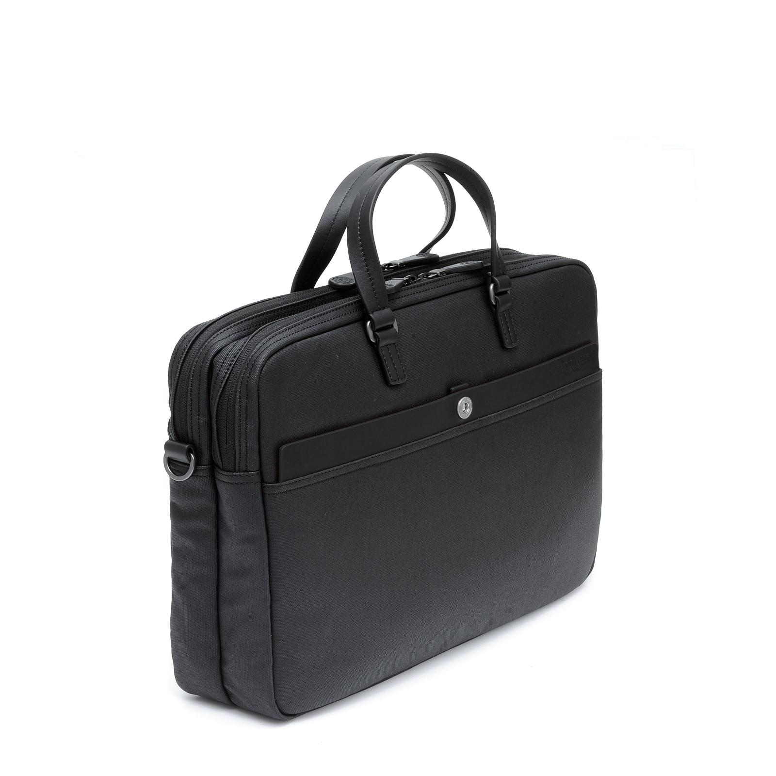 Cartable 2 Zip Matt Noir/Noir