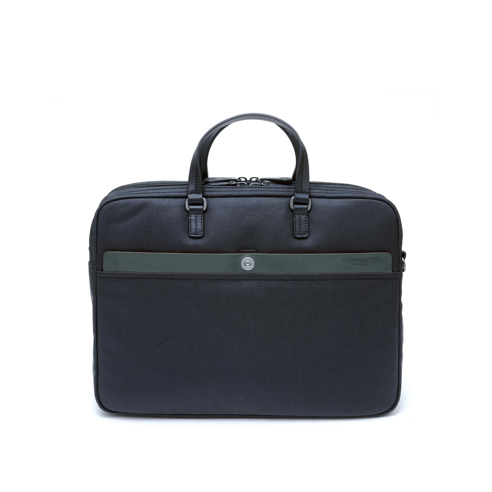 Cartable 2 Zip Matt Agave/Noir