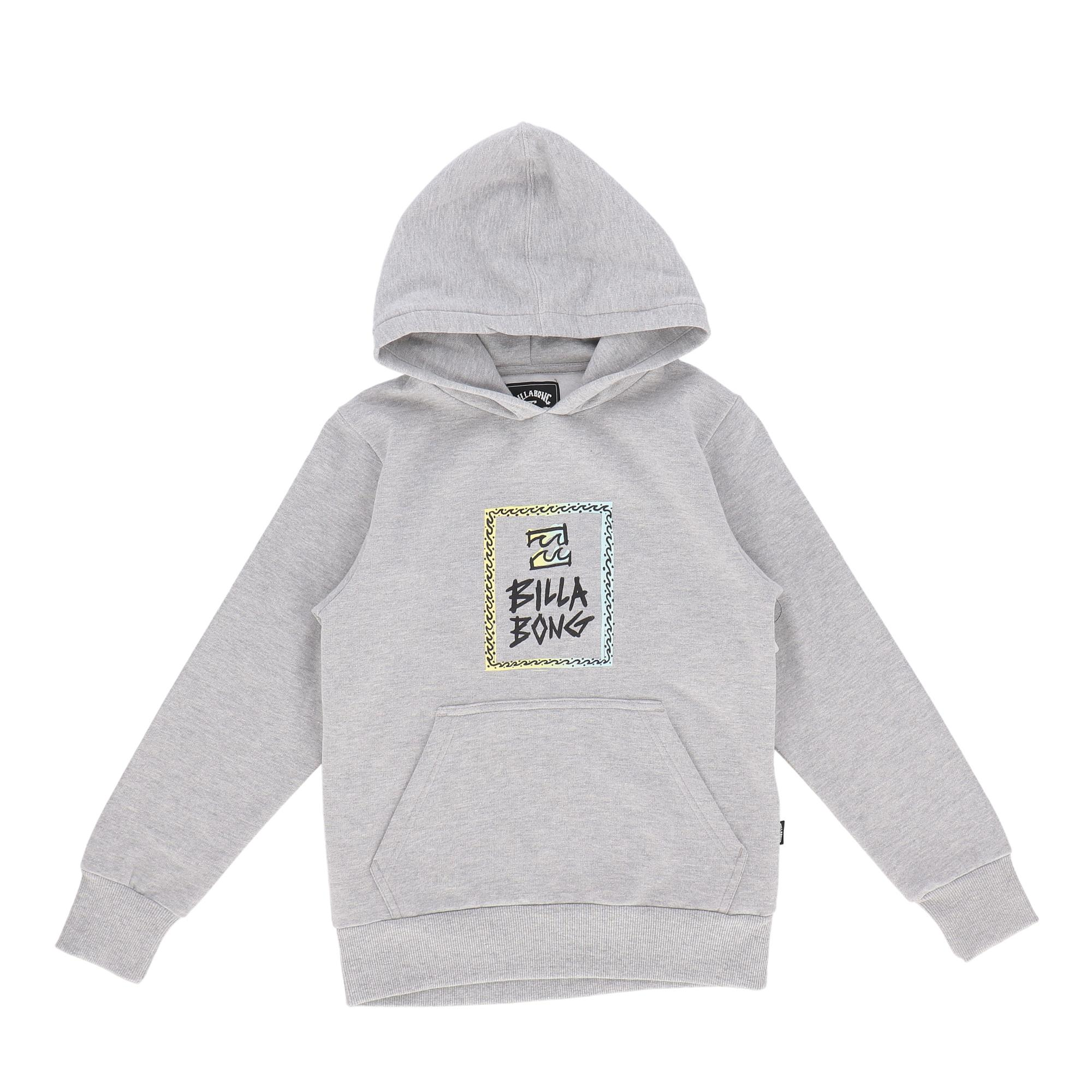 Billabong Be There Po Boy Grey heather