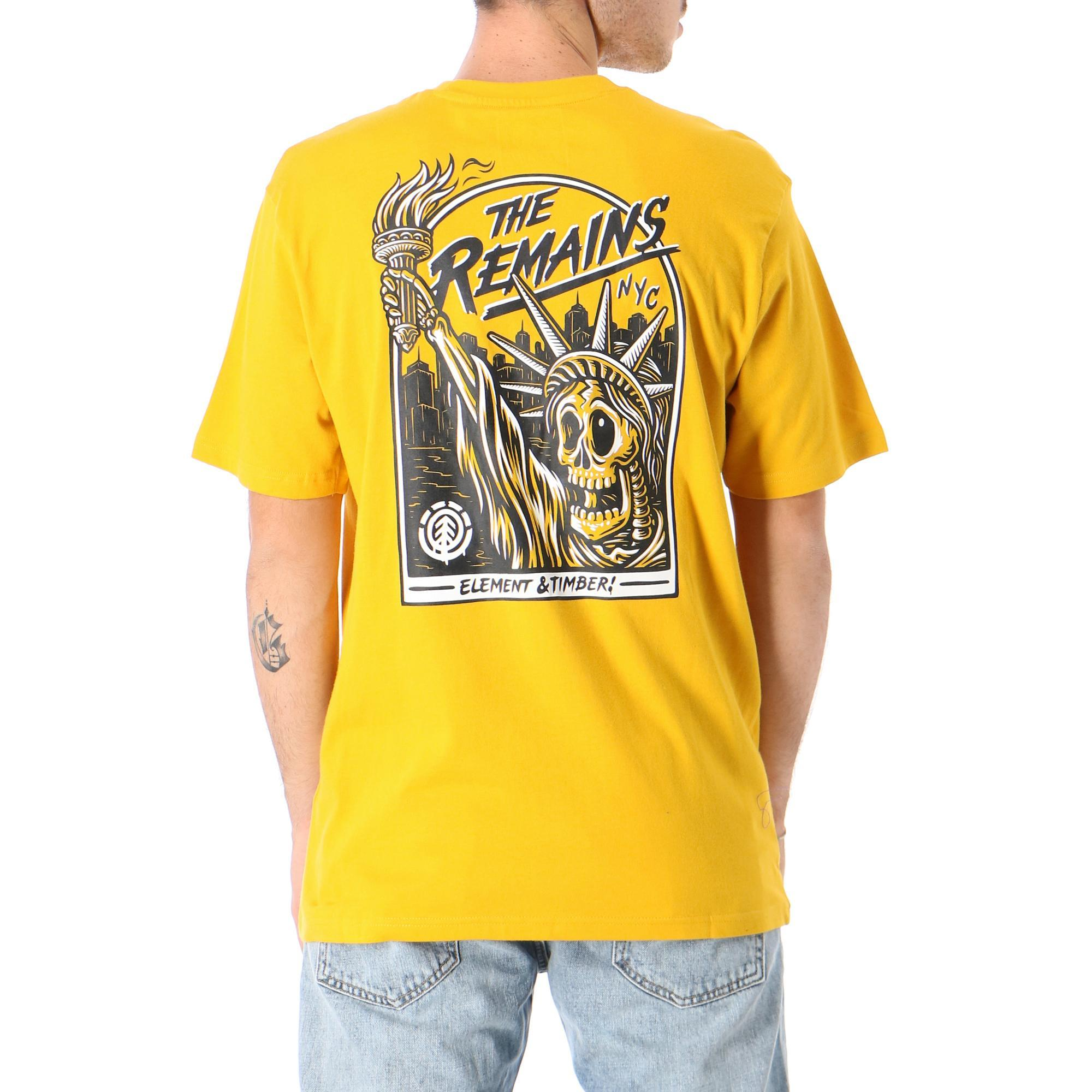 Element Liberty Ss Old gold
