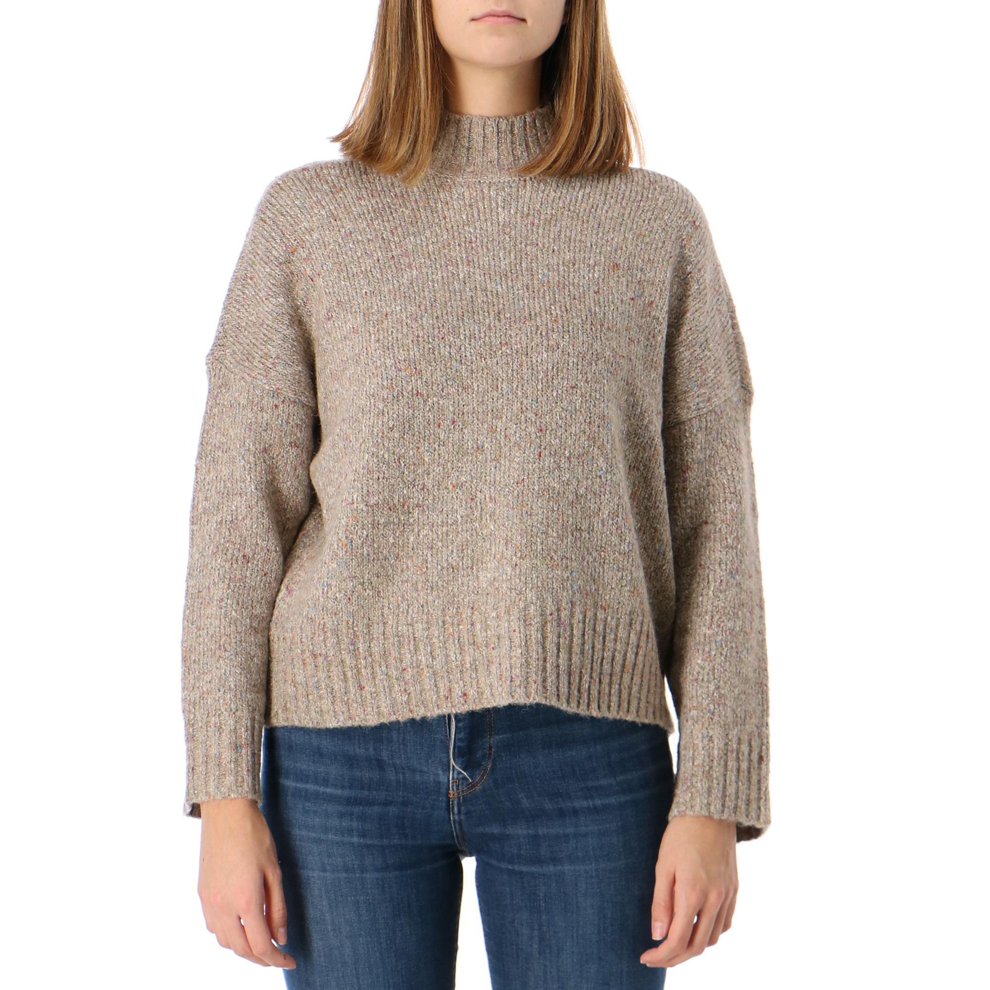 Only Onltata L/s Pullove Cc Knit SIMPLY TAUPE