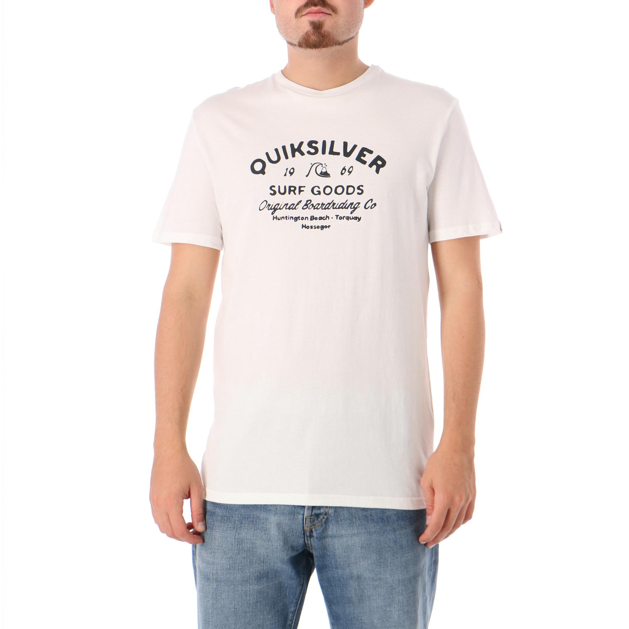Quiksilver Closed Caption Ss White