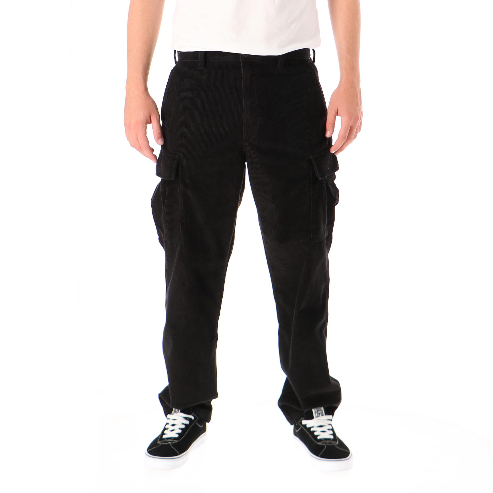 Vans Mn Tyson P Loose Tapered Cord Cargo Pant Black