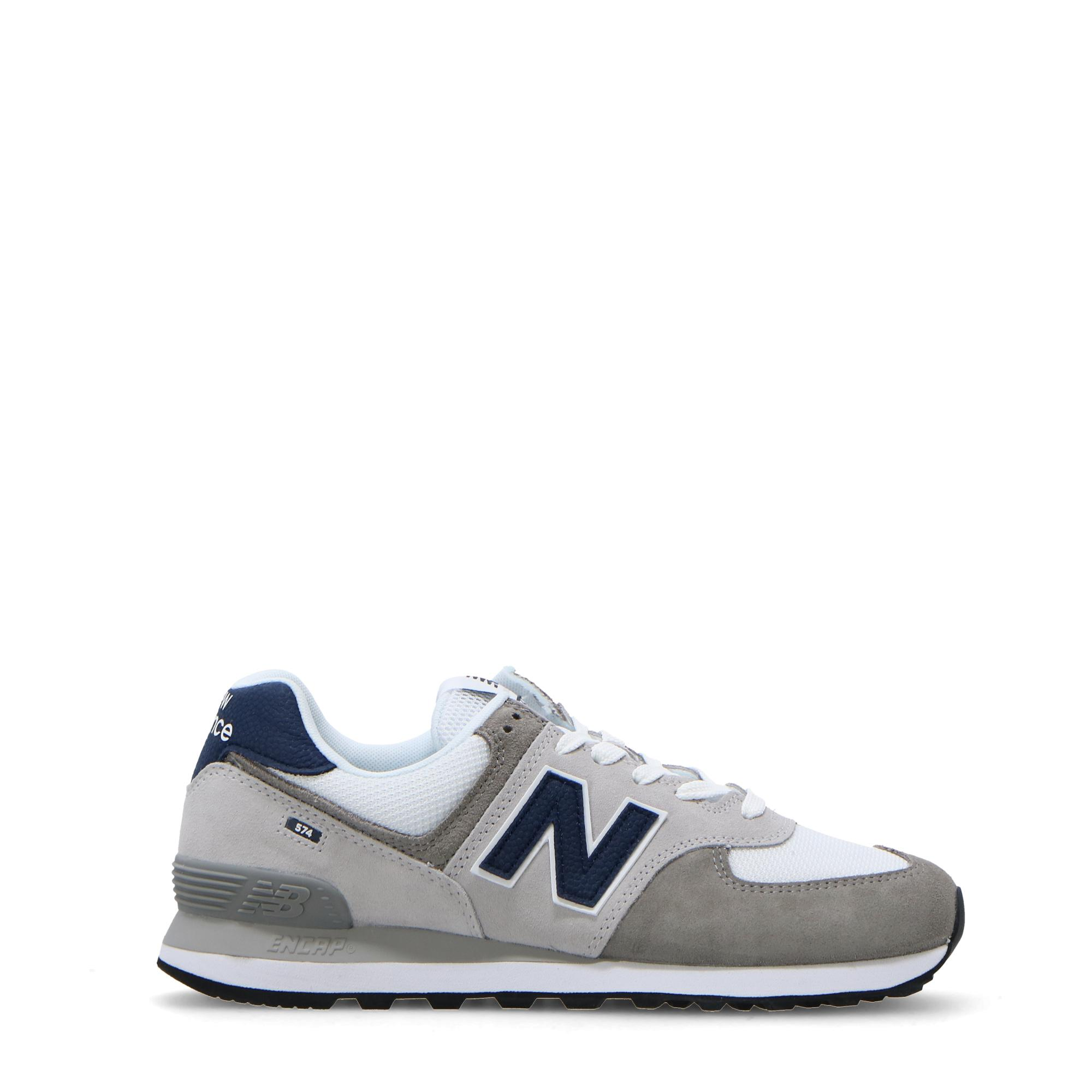 New Balance 574 GREY WHITE