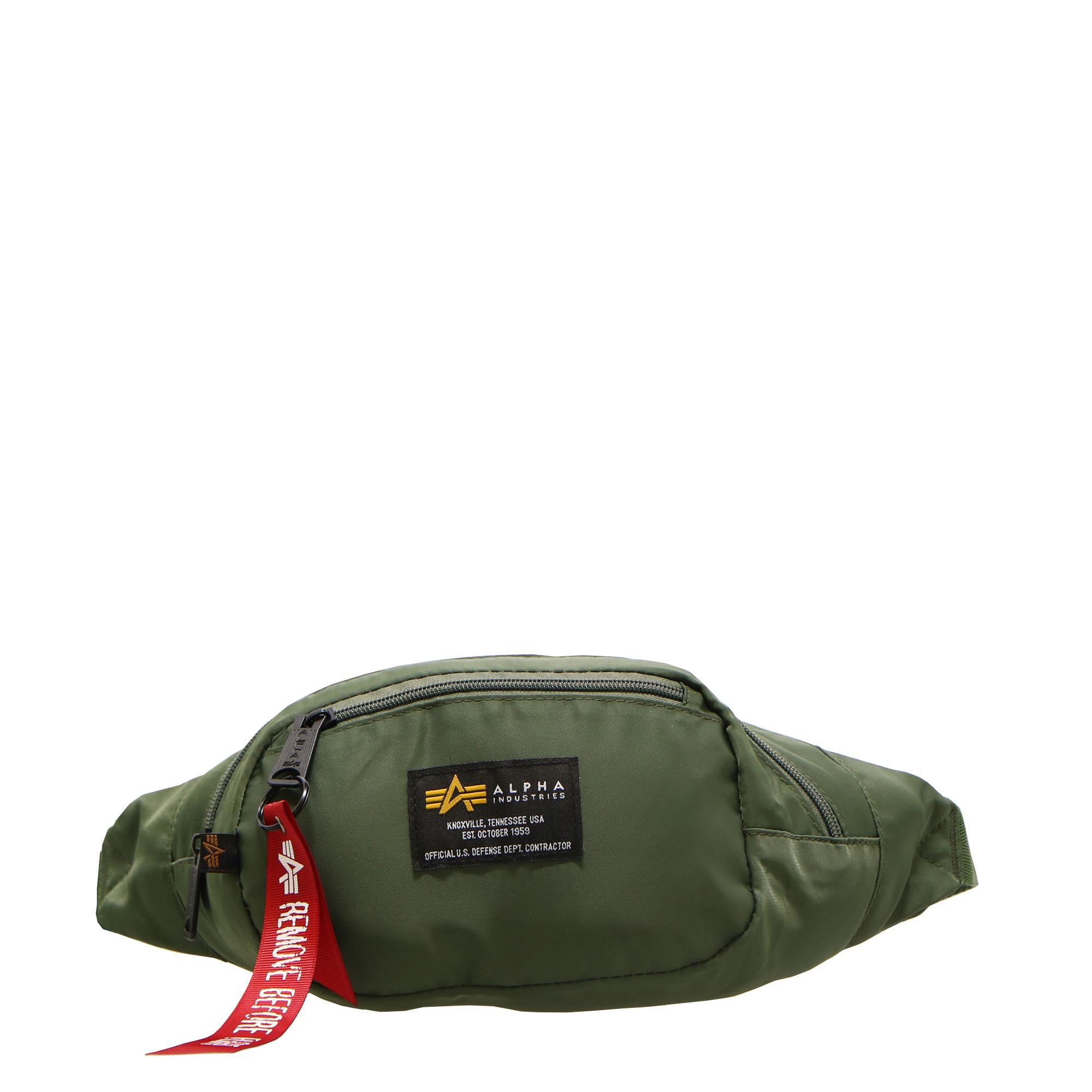 Alpha Industries Crew Waist Bag Sage green