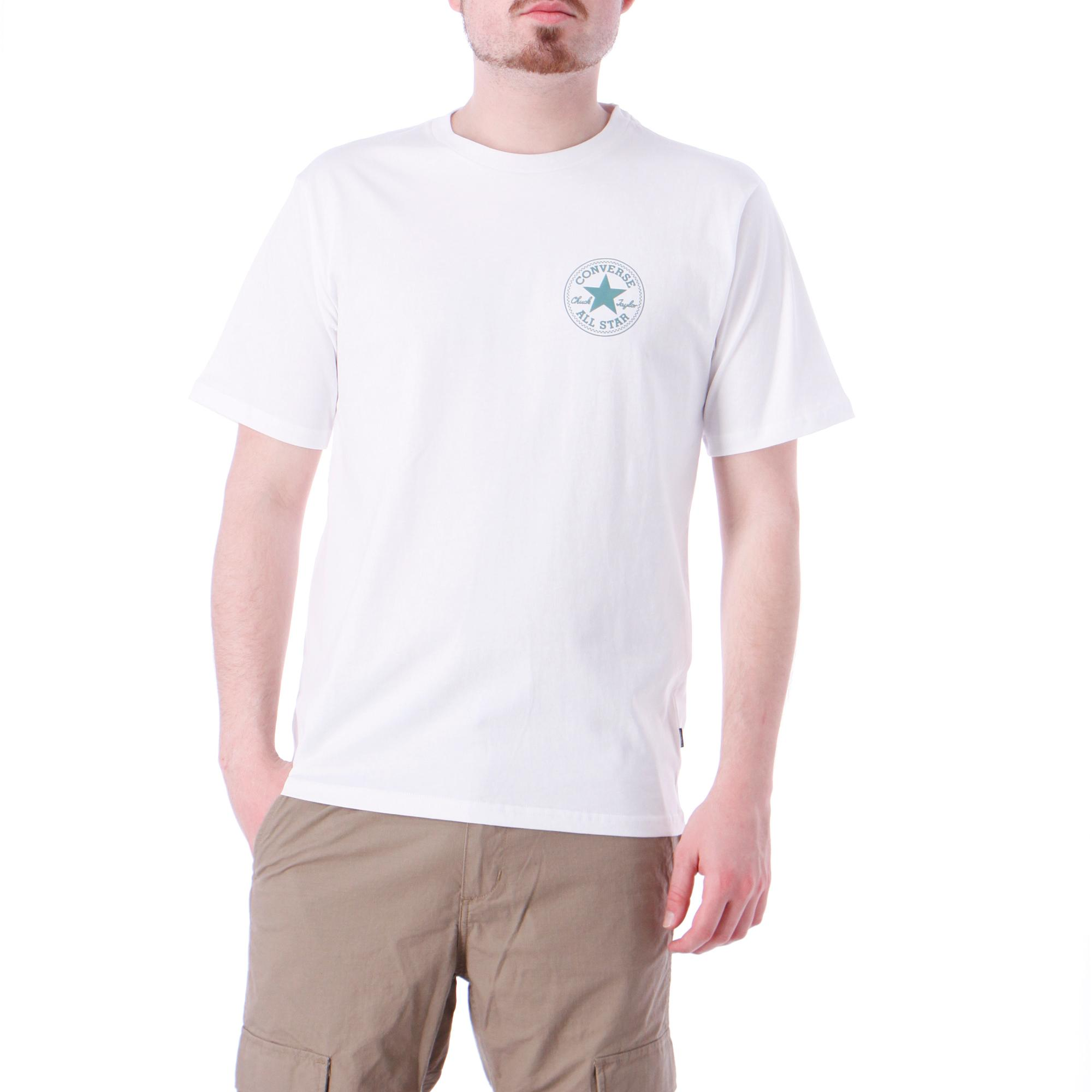 Converse Chuck Taylor Patch Short Sleeve Tee OPTICAL WHITE