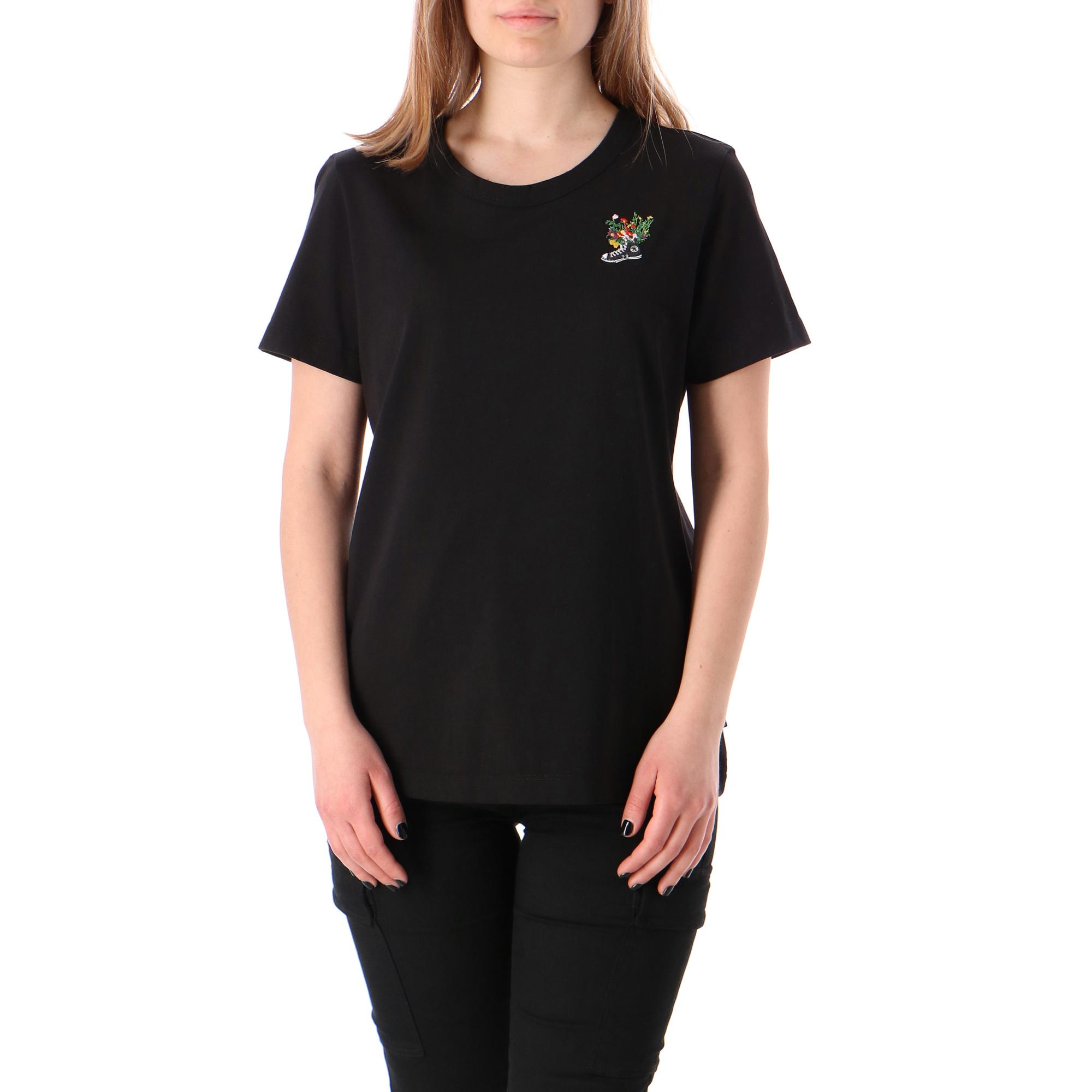Converse Chuck Flowers Womens Regular Tee Converse black