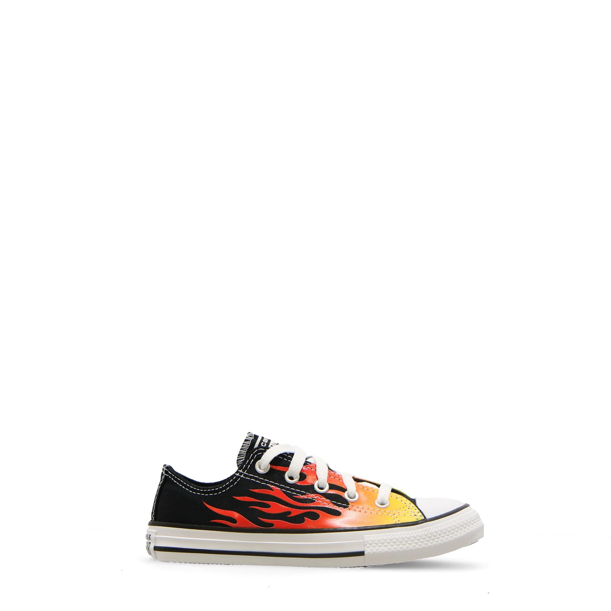 Converse Chuck Taylor All Star Archive Flame Ox Black enamel red fresh
