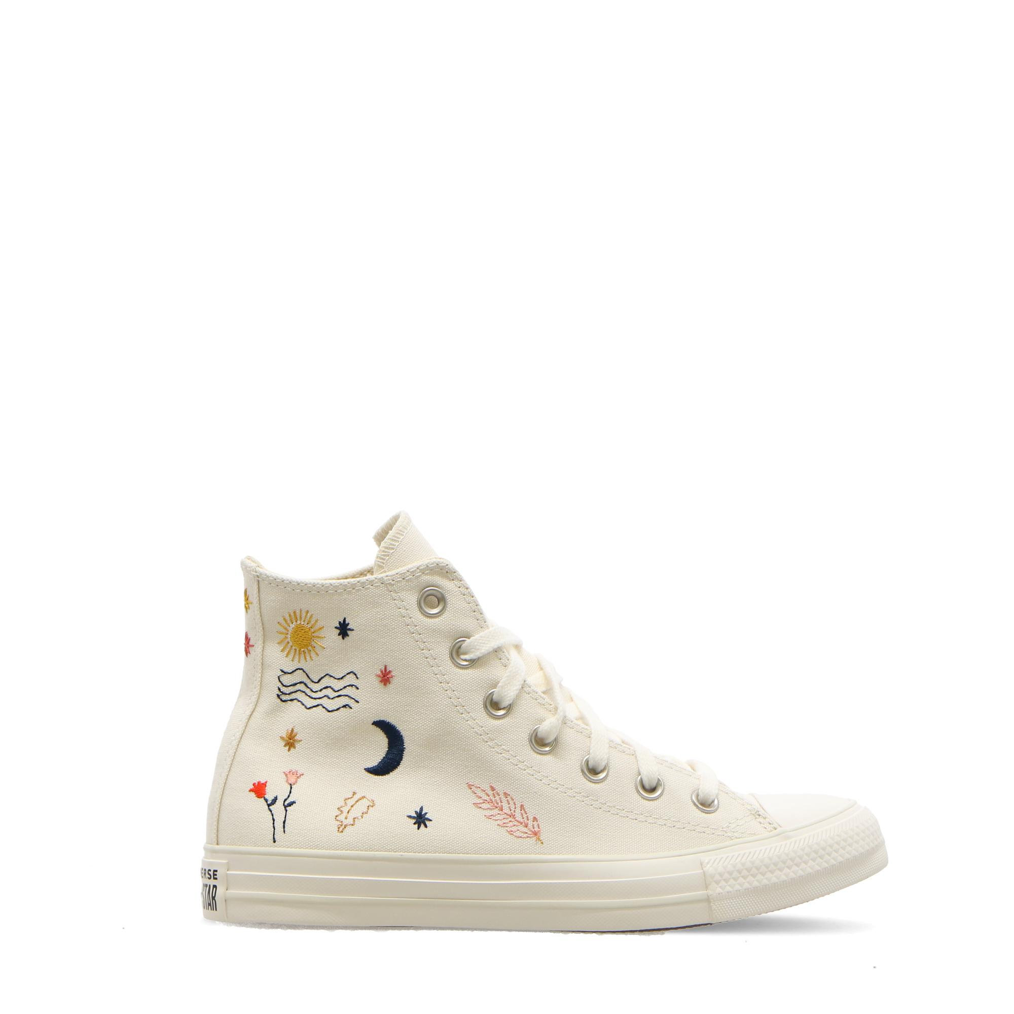Converse Chuck Taylor All Star Hi Egret vintage white black