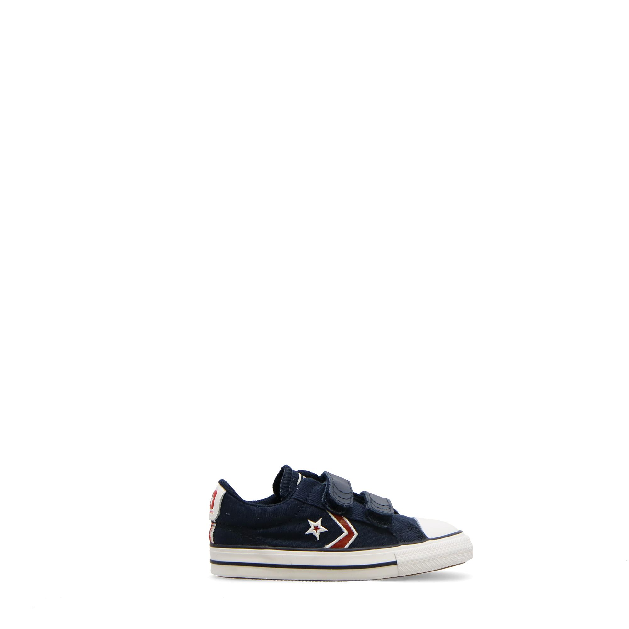 Converse Star Player 2v Embroidered Ox Obsidian university red
