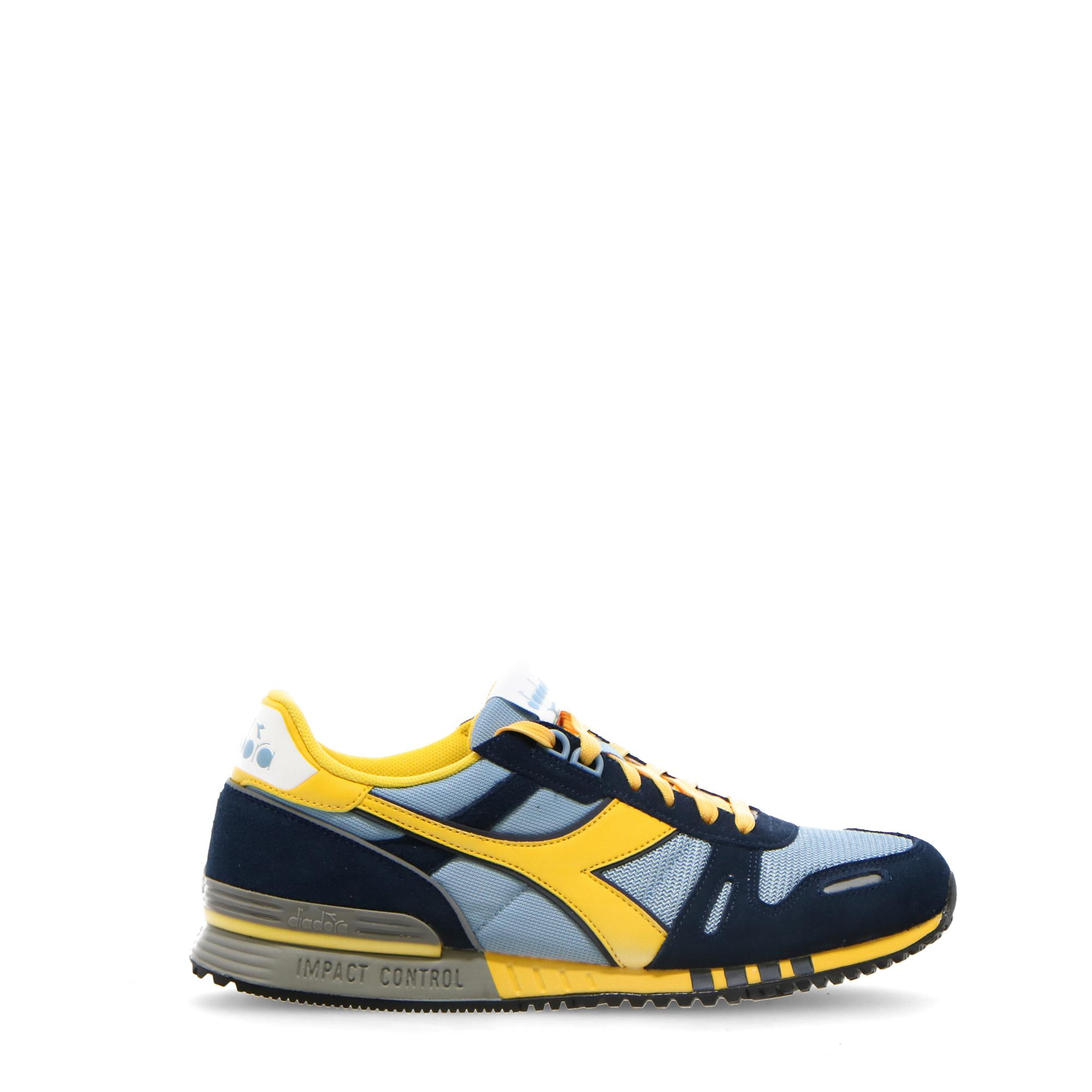 Diadora Titan Sky blue grey spectra yellow