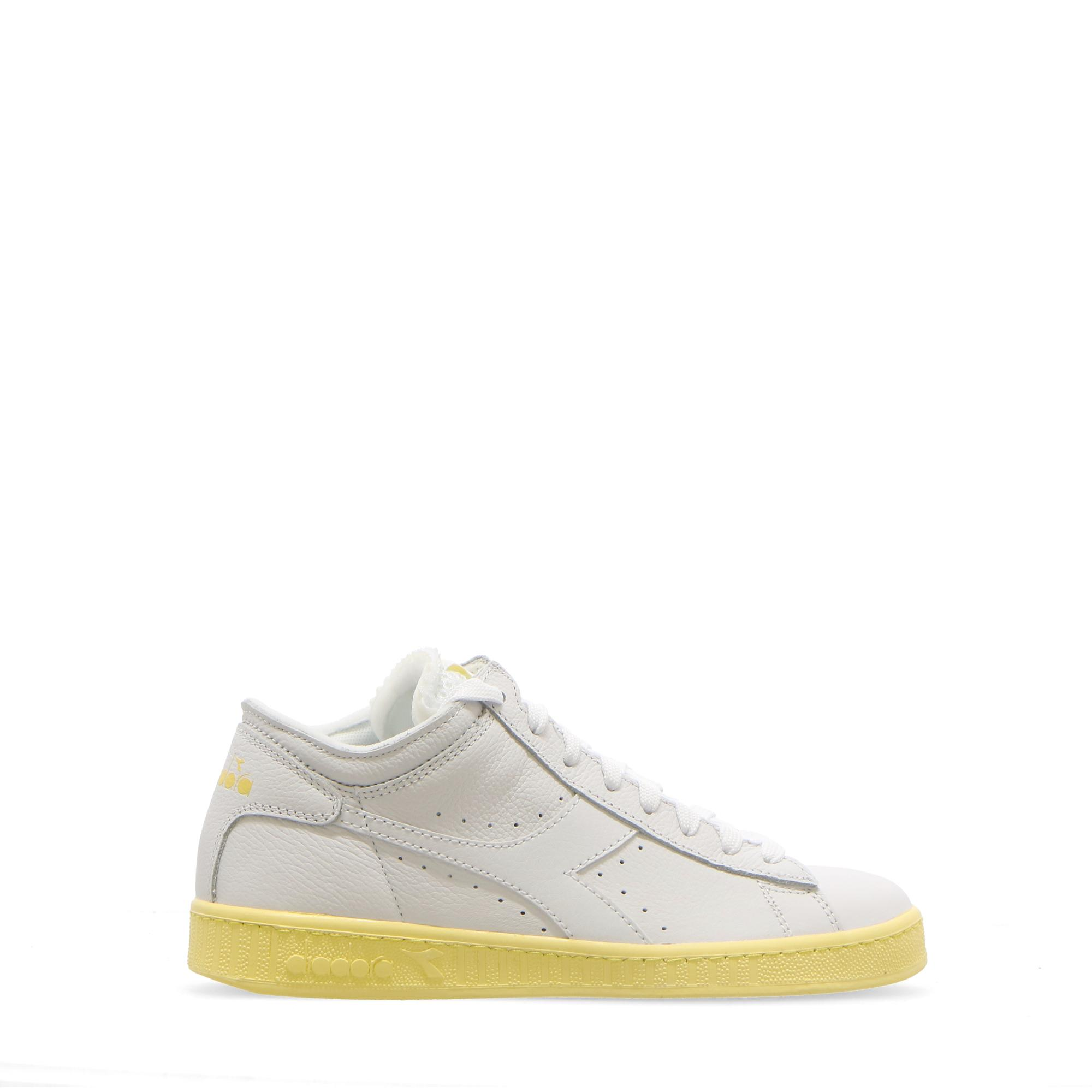 Diadora W Game L Row Cut Sole Block White popcorn