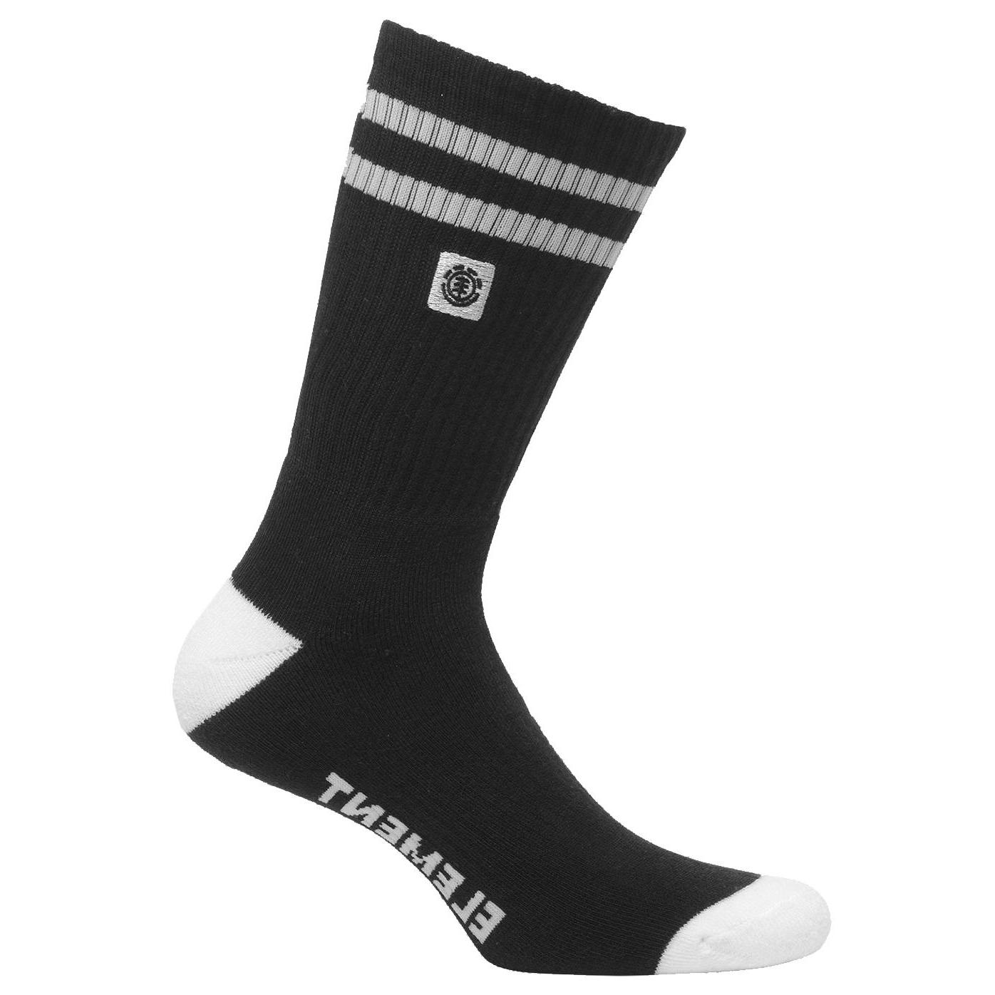 Element Clearsight Socks FLINT BLACK