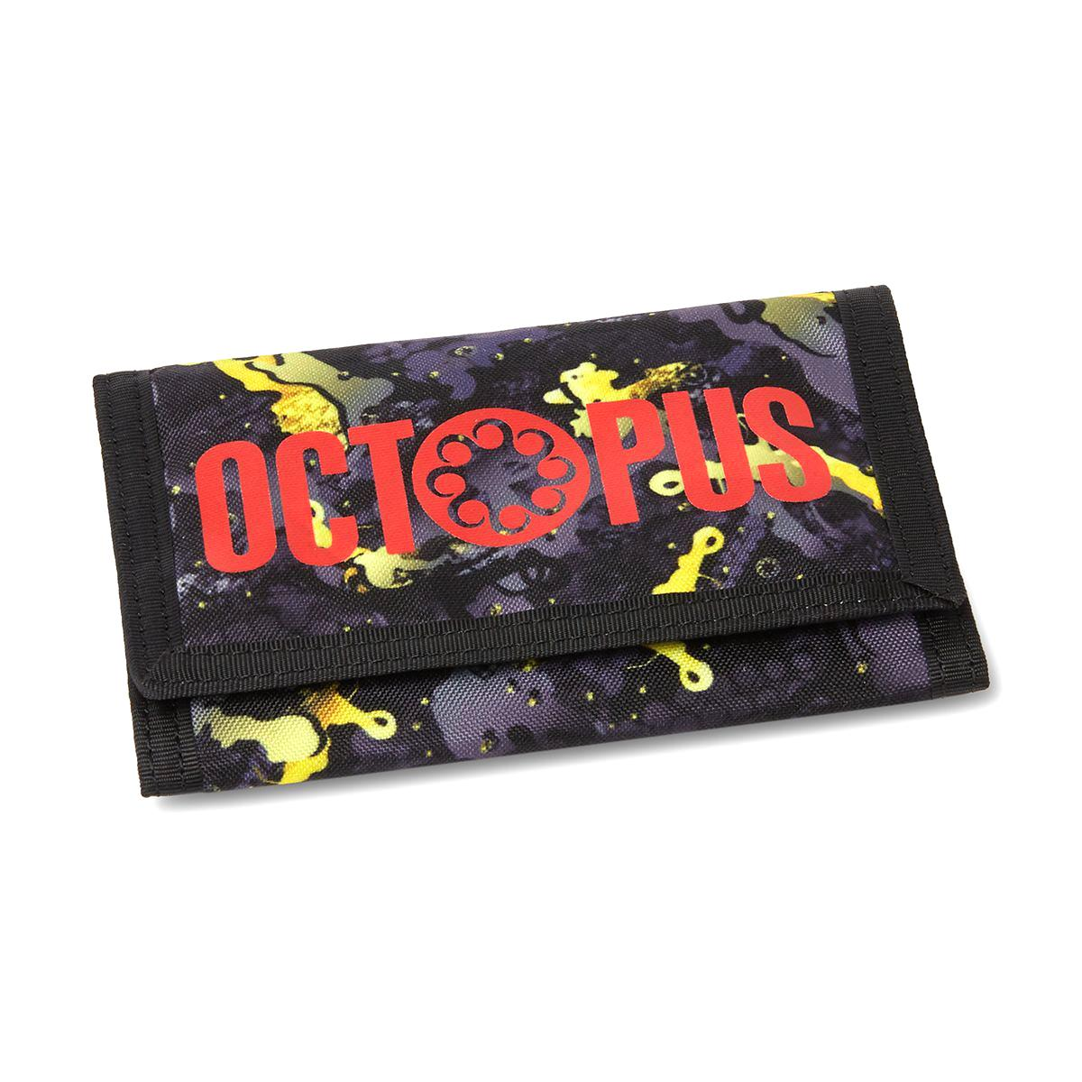 Octopus Camo Wallet Black