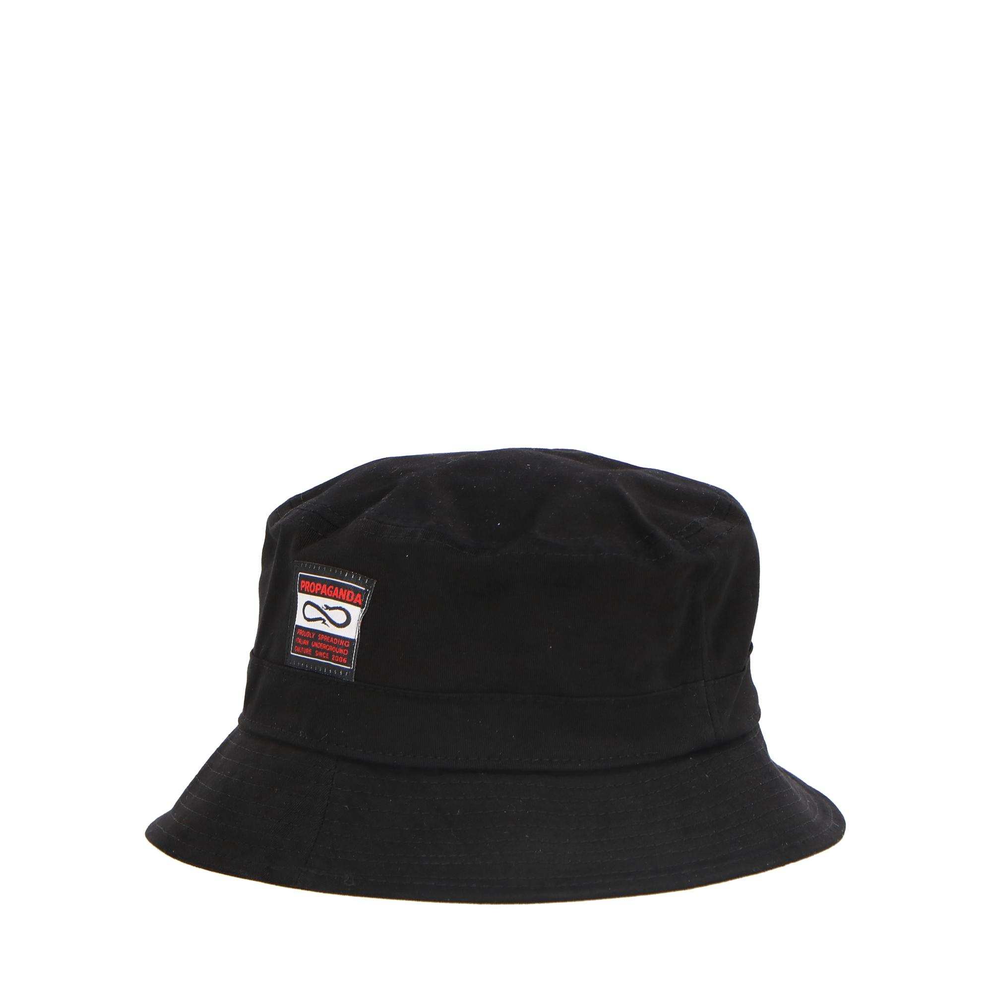 Propaganda Blank Bucket Hat Black