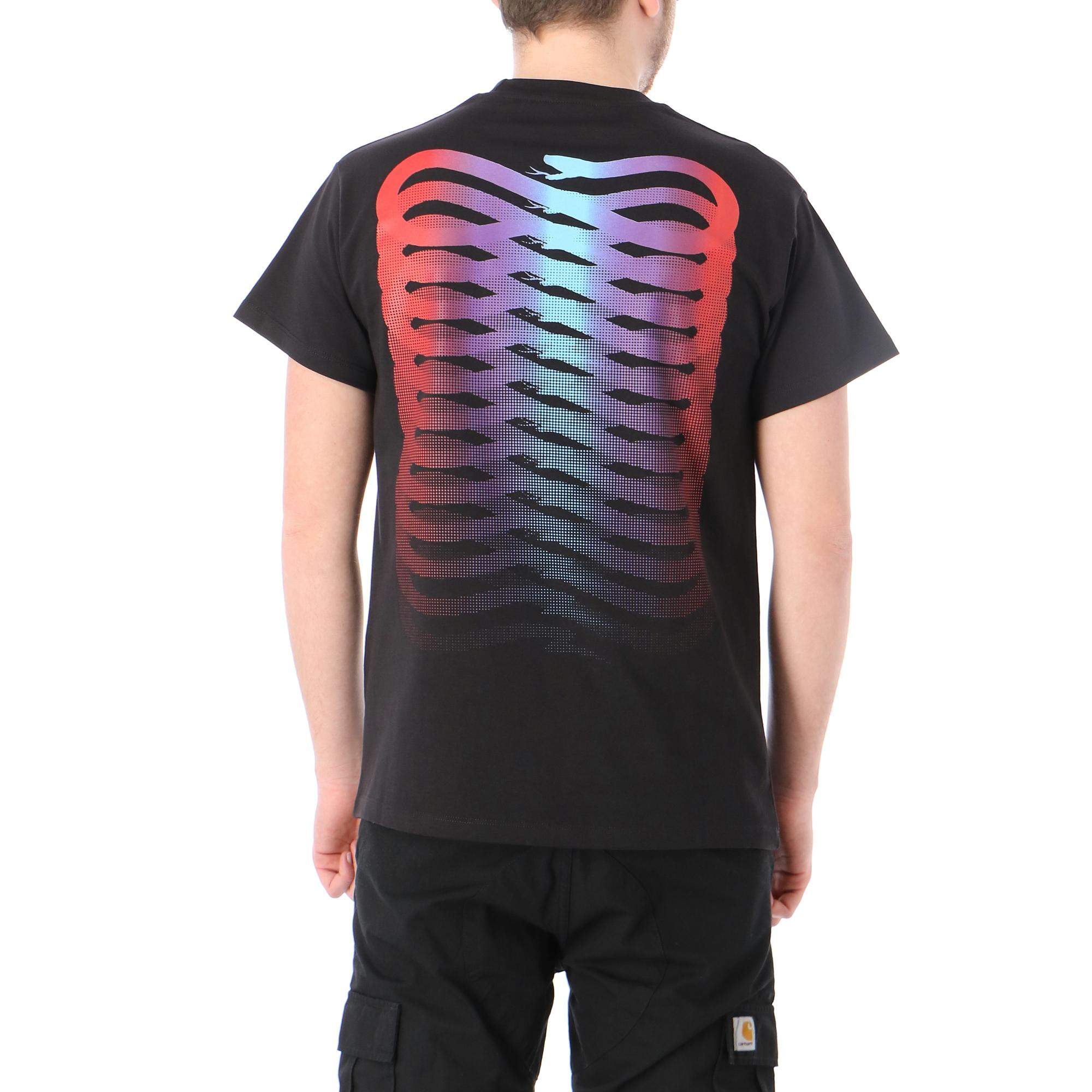 Propaganda Ribs Gradient T-shirt Black