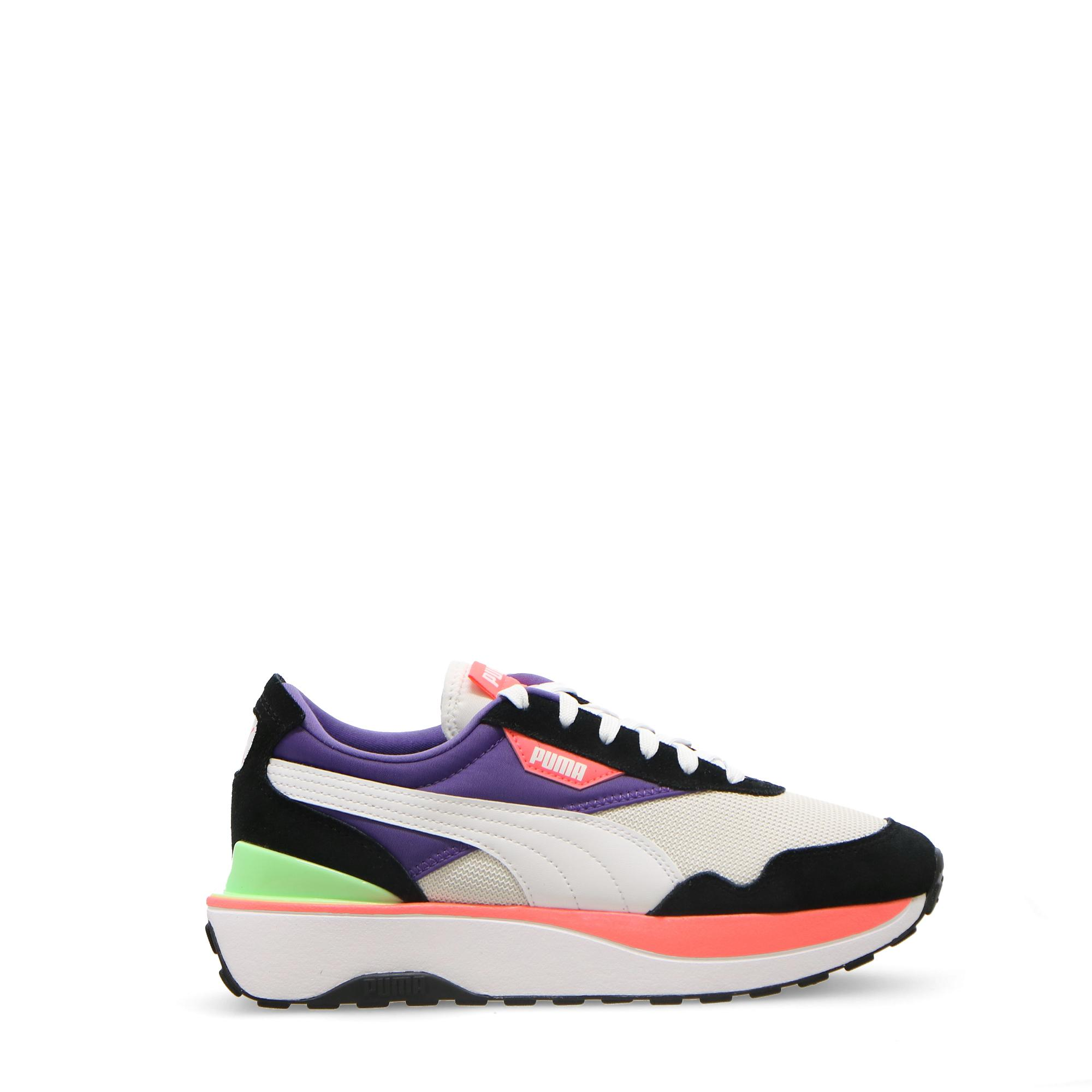 Puma Cruise Rider Silk Road Wmn Black white ignite pink