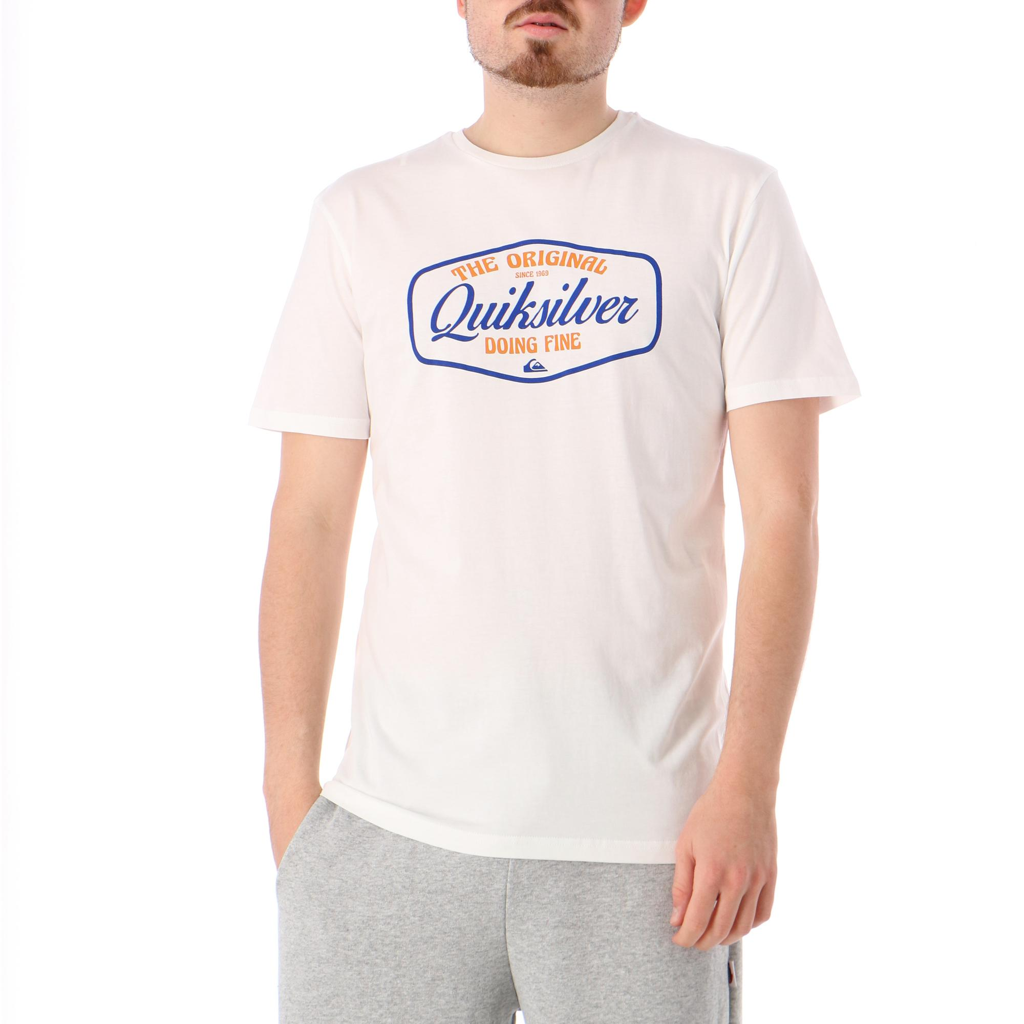 Quiksilver Cut To Now Ss WHITE