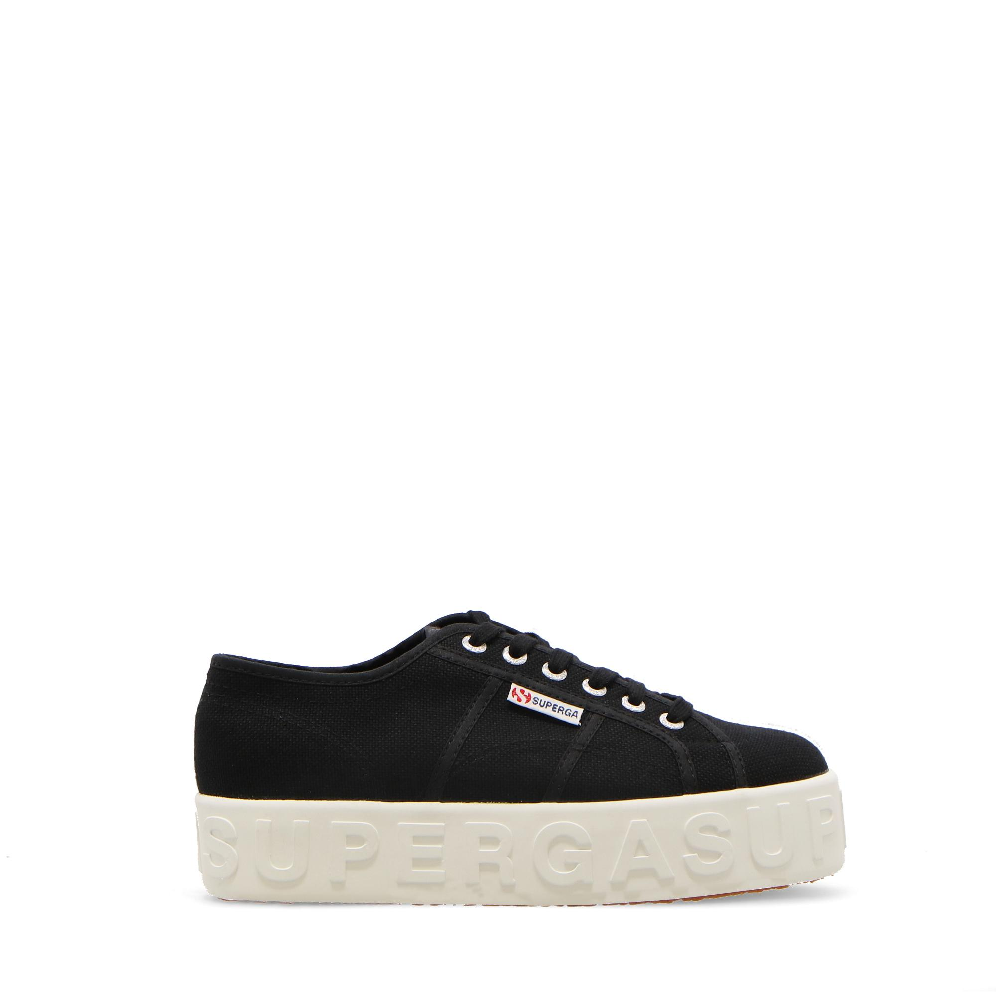 Superga 2790 3d Lettering Black