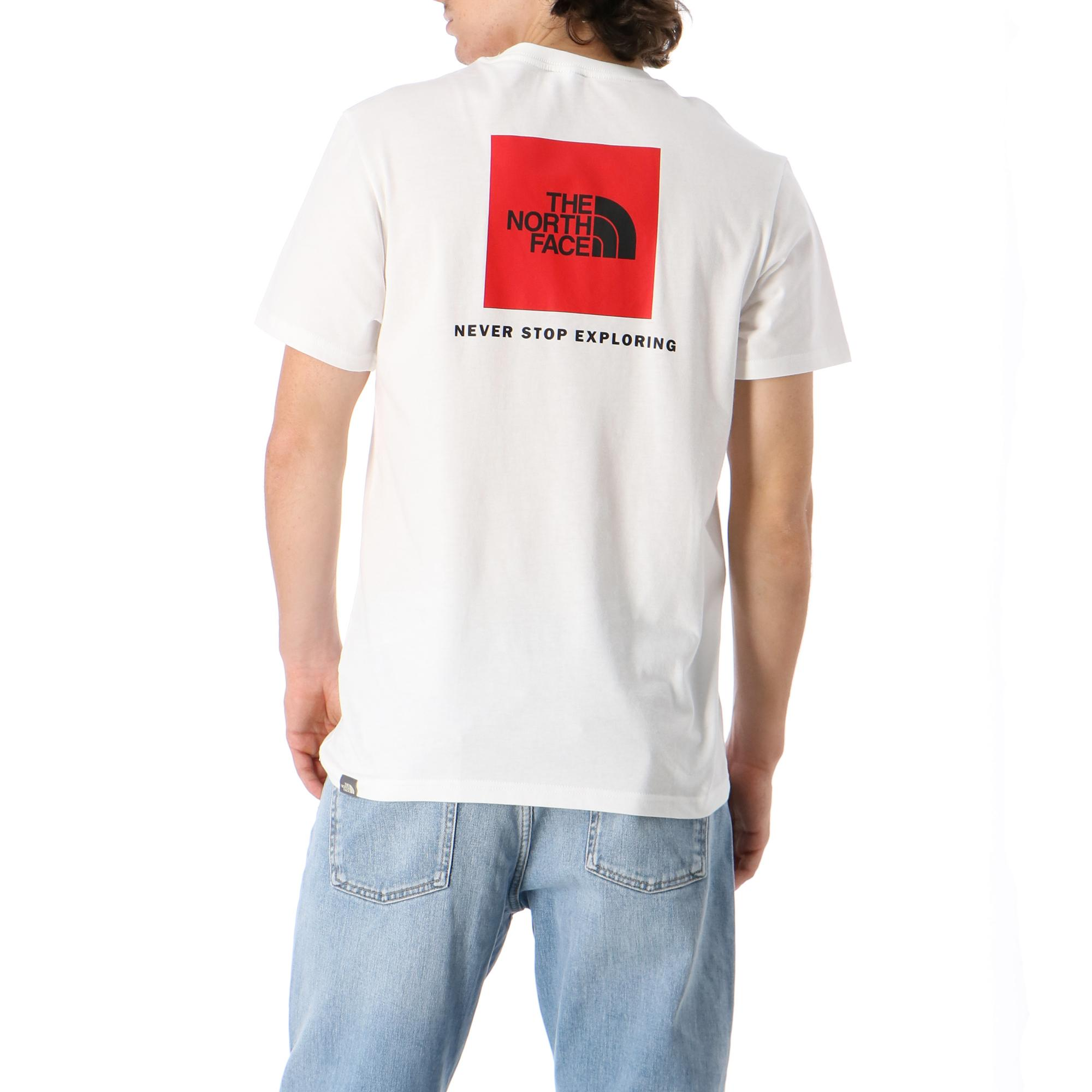 The North Face M S/s Redbox Tee TNF WHITE