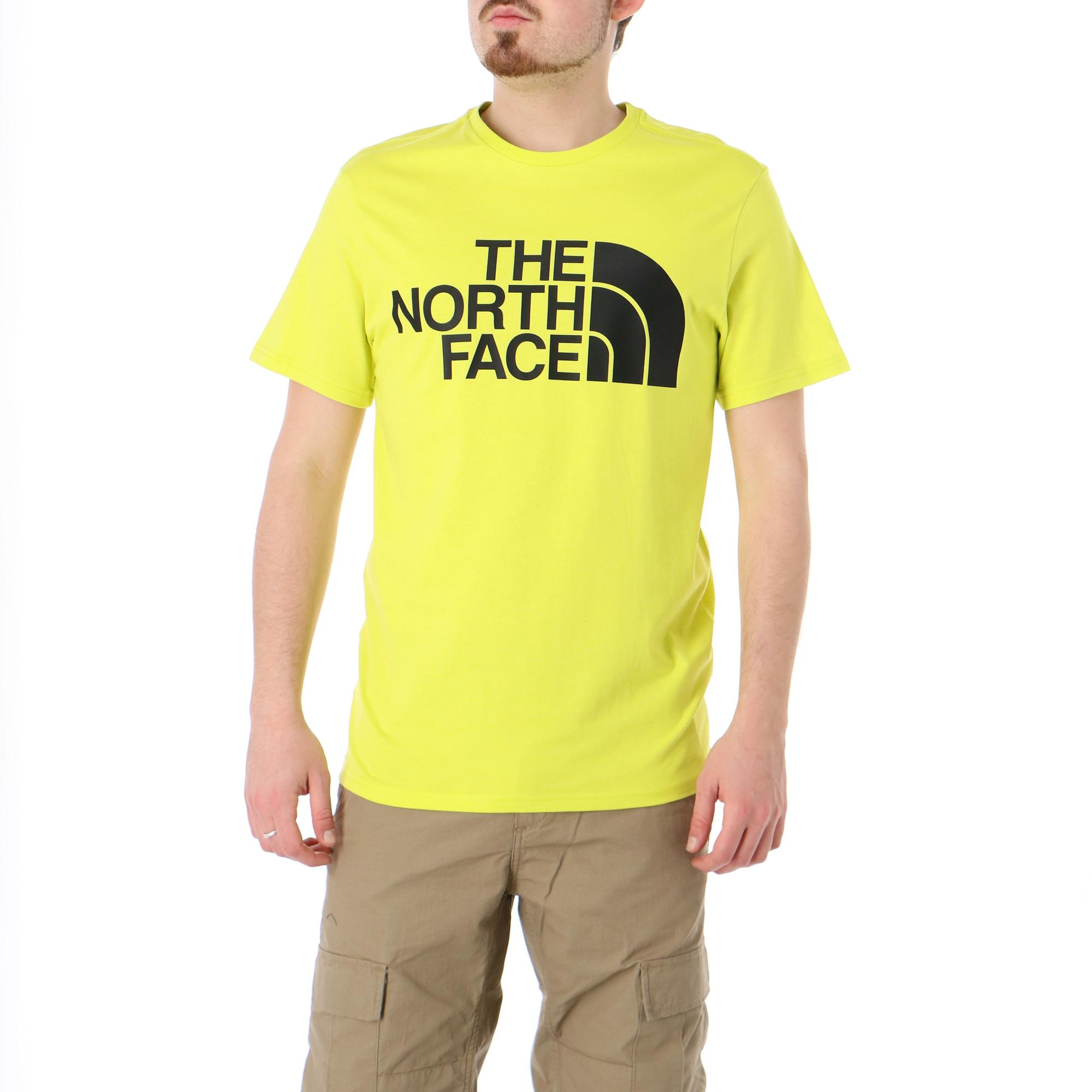 The North Face M Standard Ss Tee Sulphure spring green