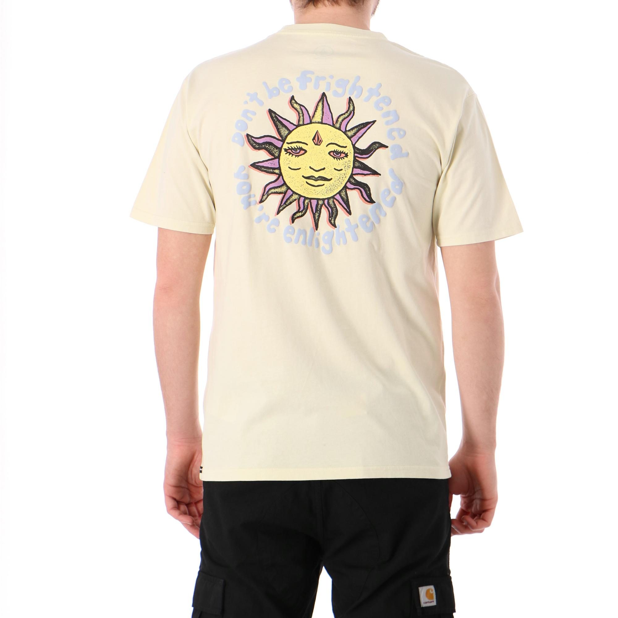 Volcom Ozzy Wrong Ss Tee OFF WHITE