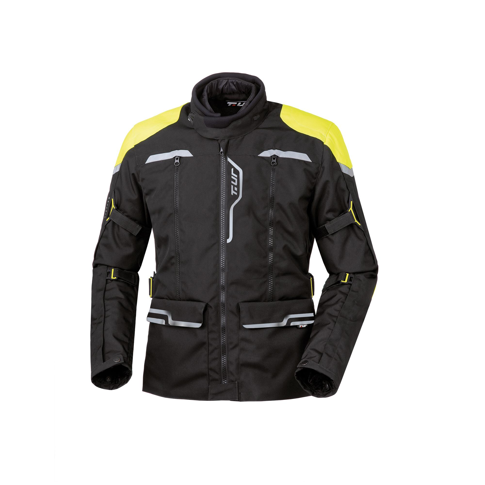 Giacca J-two Black-Yellow Fluo