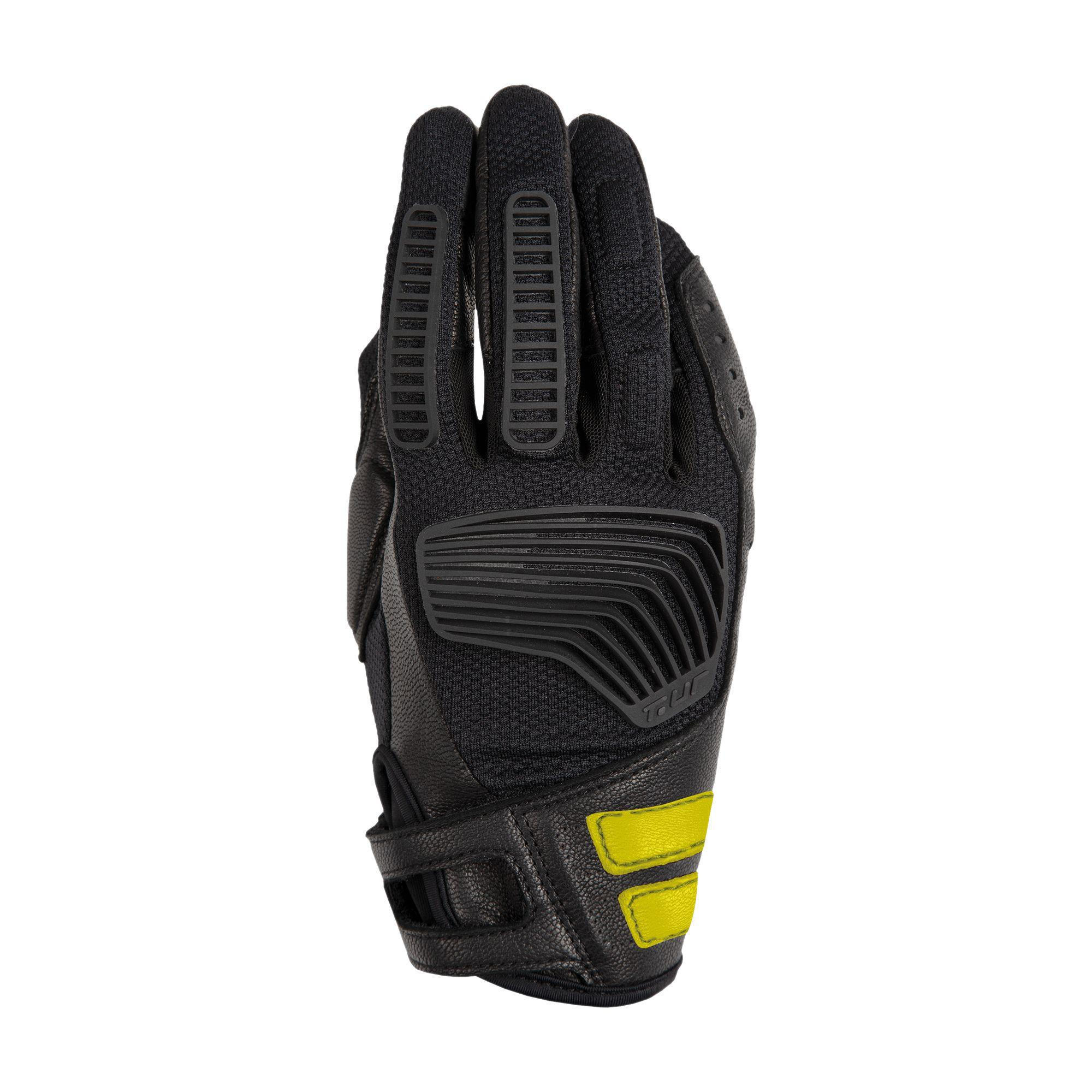 Guanto G-two Lady Black-Yellow Fluo