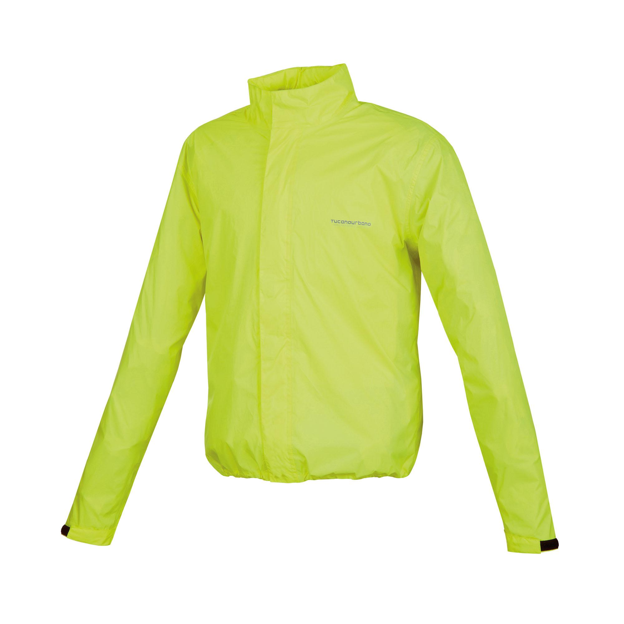 Super-compact Raincoat Nano Rain Jacket Plus Fluorescent Yellow