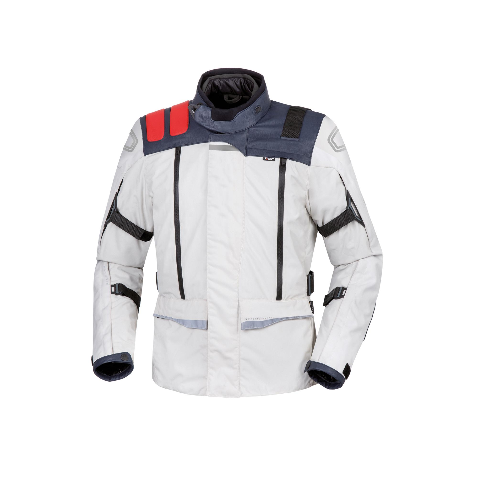 Giacca J-one Light Grey-Red